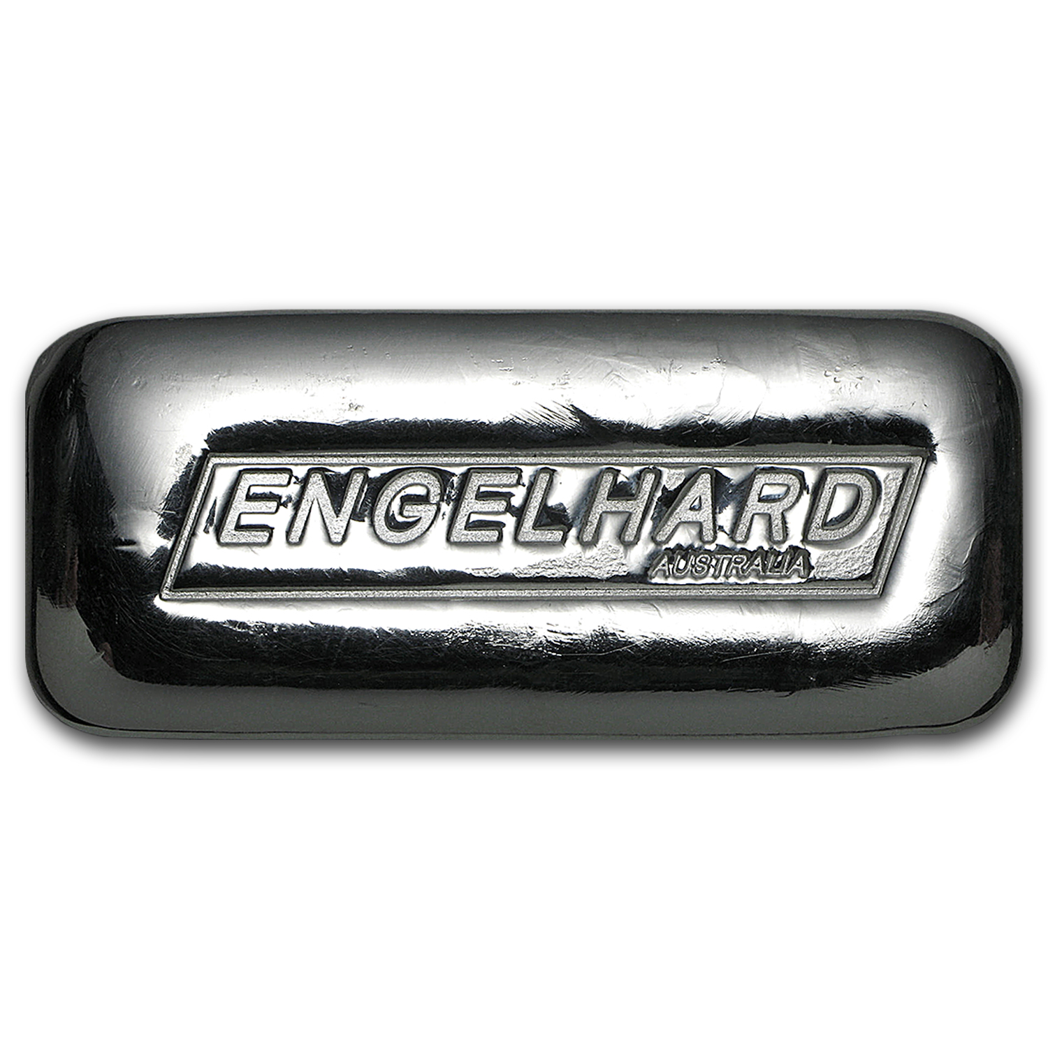 5 oz Silver Bar - Engelhard-Australia (New, Cast)